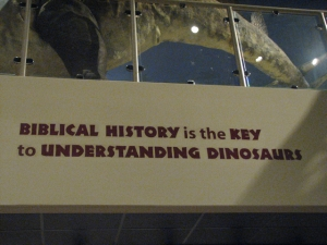 sign at museum