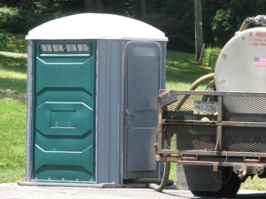 outhouse truck