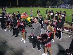 cheerleading hubby