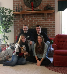 christmas family pic