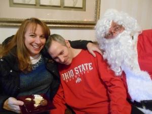 Curt with Santa